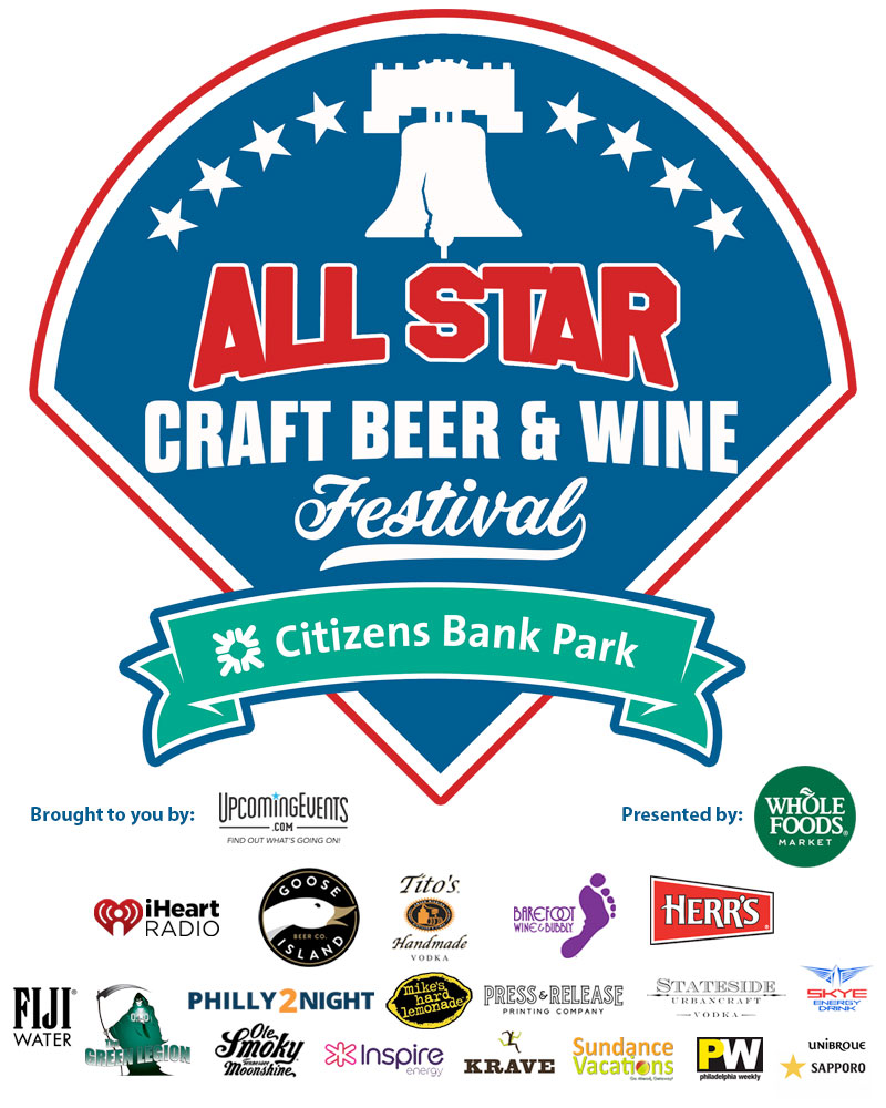 The All Star Craft Beer and Wine Festival - Event Logo